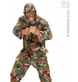 Drinkfles in camouflagestof