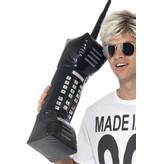 Opblaasbare retro telefoon