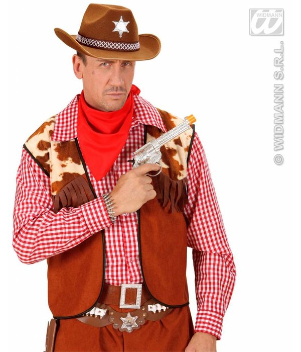 Hoed Sheriff bruin