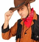 Rodeo hoed wolvilt bruin