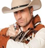 Rodeo hoed wolvilt beige