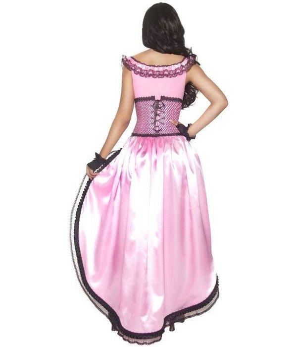 Western Saloongirl kostuum