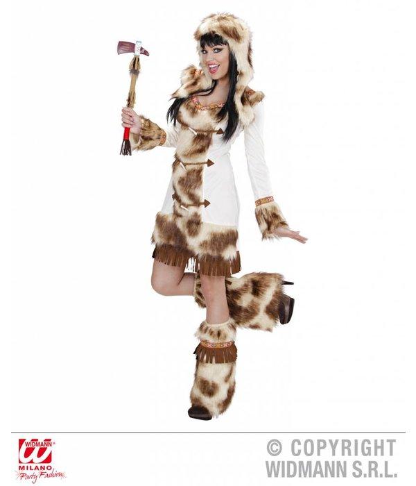 Indiaans meisje weeko kostuum