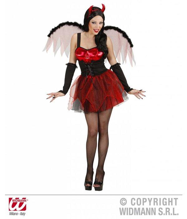 Sexy duivel met vleugels