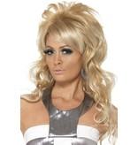 60's beauty Queen pruik blond