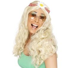 Groovy pruik blond