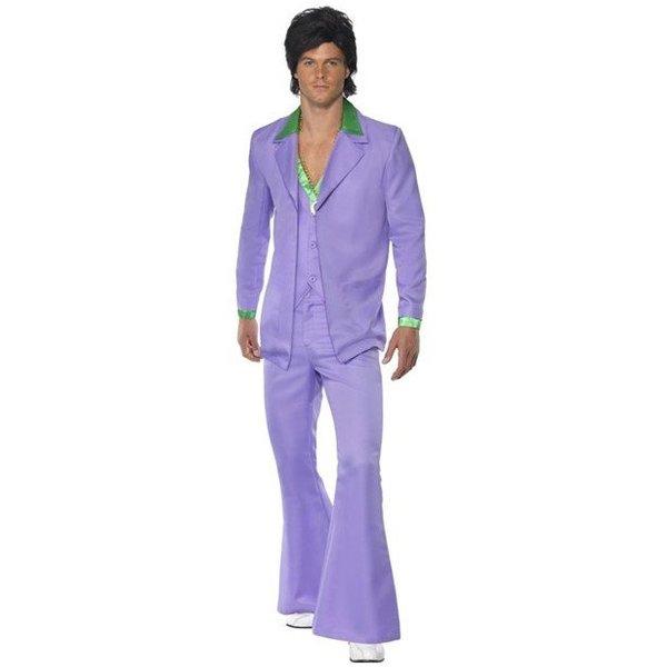 Lavender jaren 70 suit