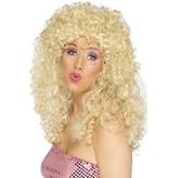 Pruik Boogie Babe blond