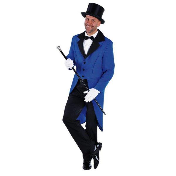 Slipjas man blauw