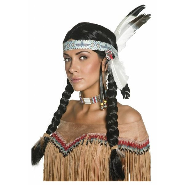 Inheemse Indische pruik