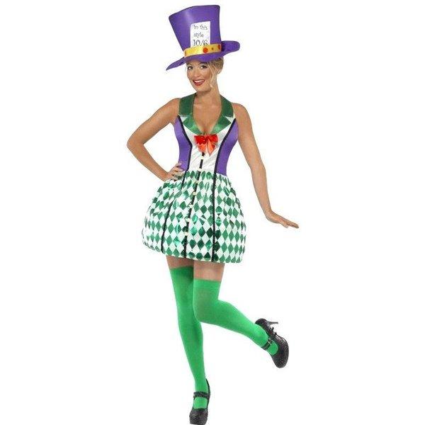 Lady Mad Hatter kostuum