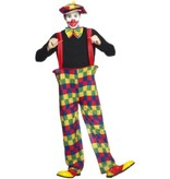 Clown Hooped outfit