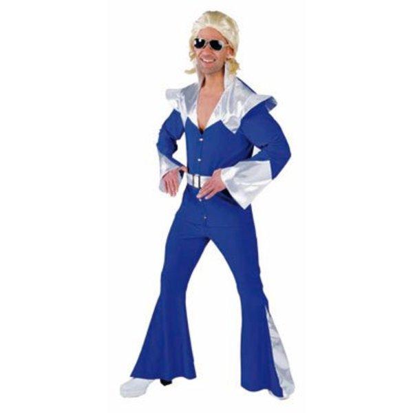 Disco Space kostuum man