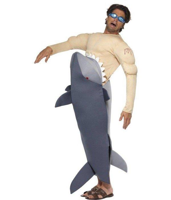 Mensenetende Haai kostuum