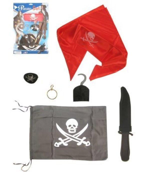 Piratenset 6-delig