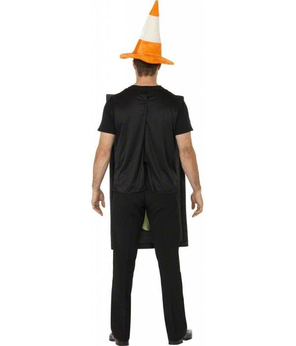 Verkeerslicht kostuum + Hoed pion