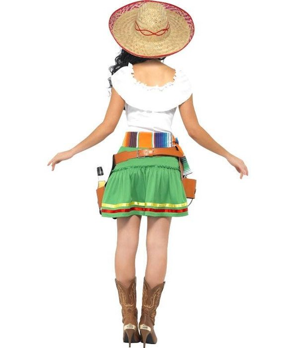 Tequila shooter dame kostuum