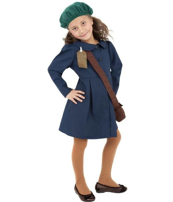 Tweede Wereldoorlog pakje meisje