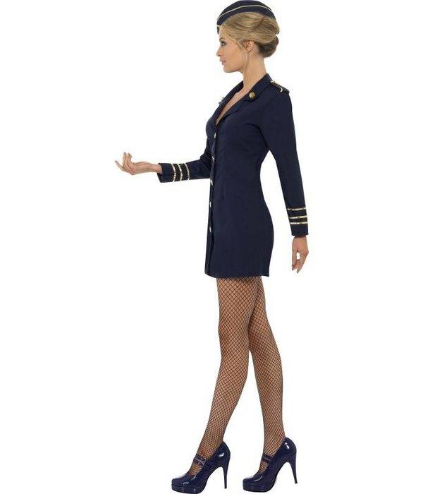 Flight Attendant kostuum vrouw