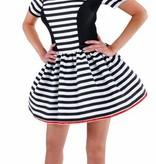 Boeven carnavalskostuum vrouw Ella