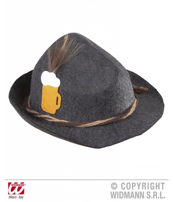 Tiroler hoed luxe felt