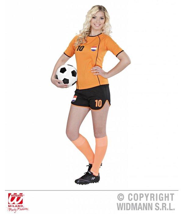 Voetbal meisje Nederland kostuum