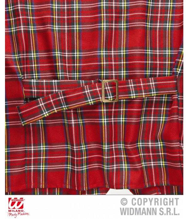 Tarten Schotse vest rood