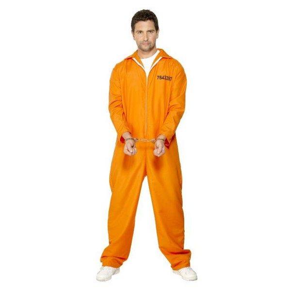 Gevangene verkleedpak oranje