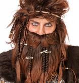 Oerman pruik met baard