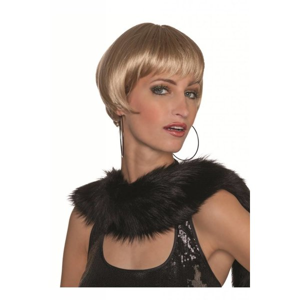 French cut pruik blond luxe
