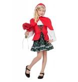 Meisje met rode cape luxe