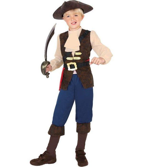 Piraat kostuum kind Jack