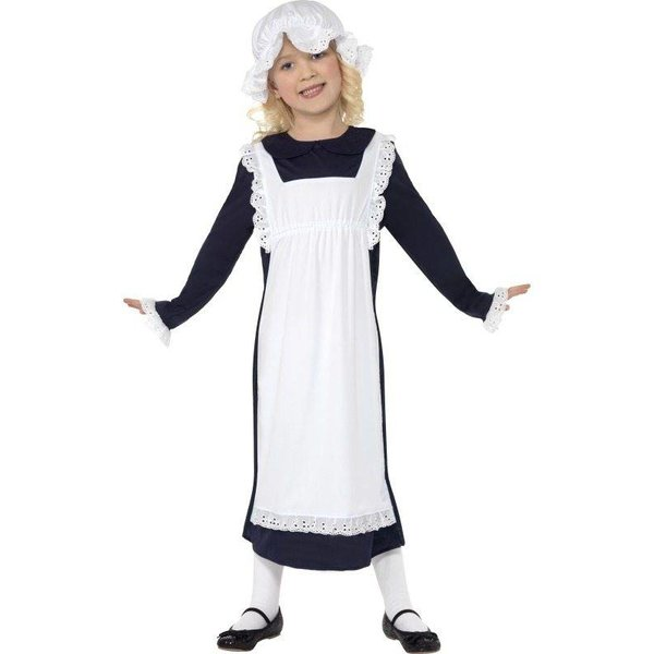 Victoriaans arm meisje kostuum