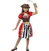 Piraten Kapitein kostuum meisje