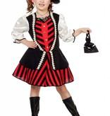 Piratenmeisje jurk Britt