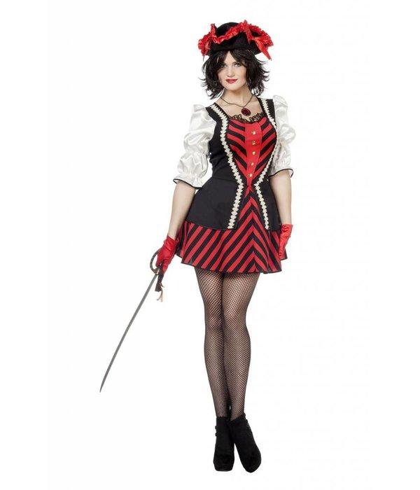 Piratendame verkleedjurk Charlotte