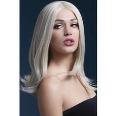Professionele pruik blond Sophia