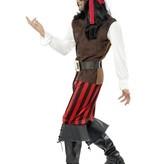 Piraat Scheepsmaat kostuum
