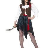 Piraten dames verkleedkostuum