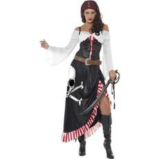 Zwoele piratenkostuum dame