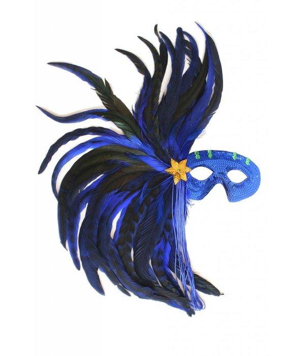 Vedermasker blauw