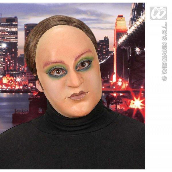 Halfgezicht masker vrouw