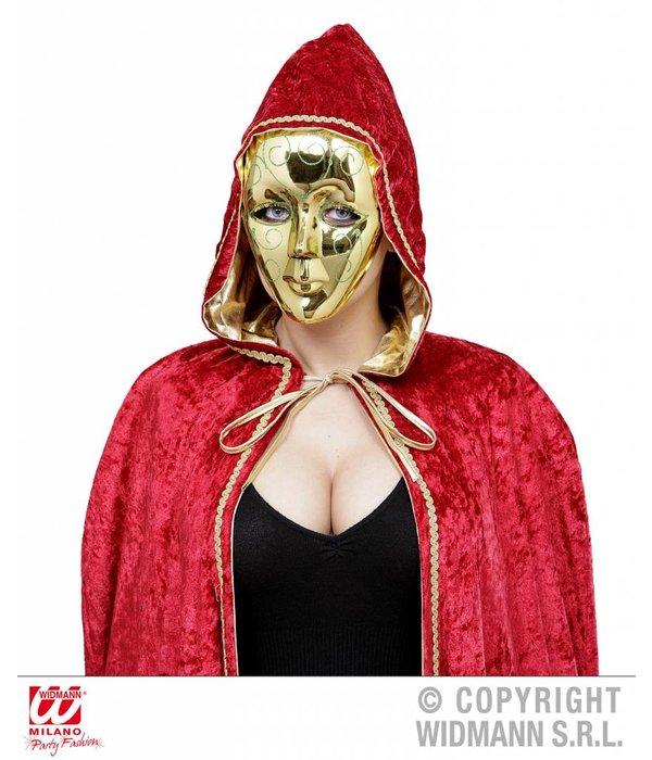 Masker goud met glitter