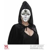 Masker zilver met glitter