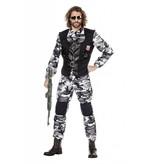 Combat zone kostuum man