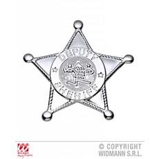 Zilveren Sheriff ster