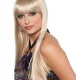 Pruik ponny deluxe blond
