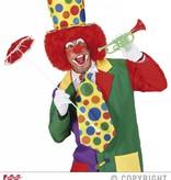 Grote stropdas clown