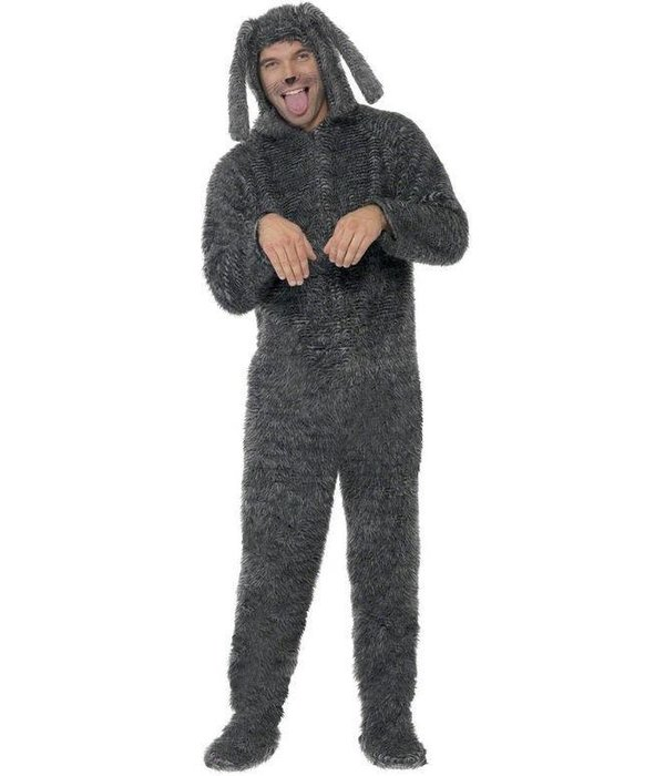 Fluffy Hond kostuum