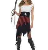 Piraten dameskostuum Wench